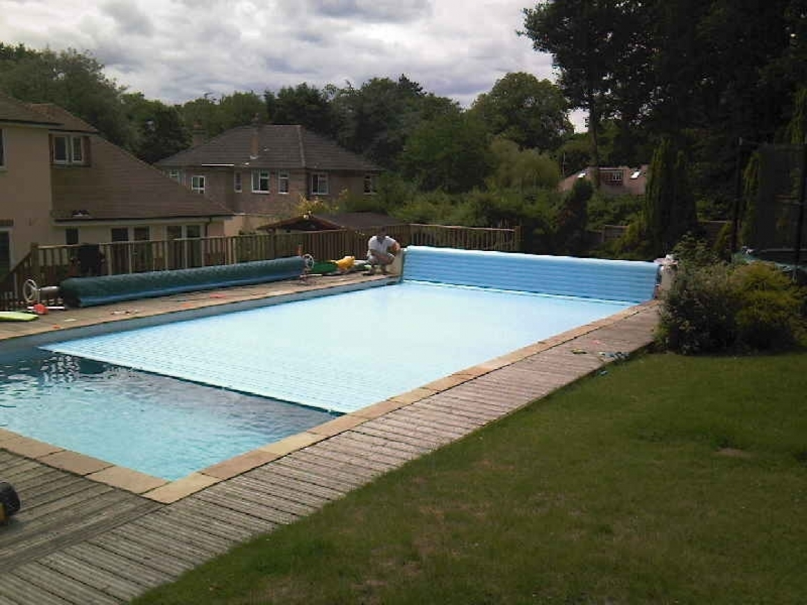 Swimming Pool Safety Covers Slatted Pool Covers