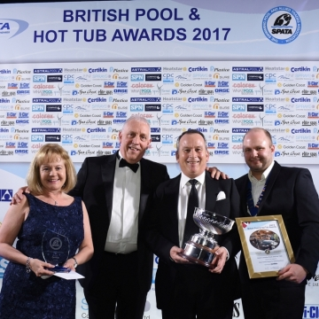 Double Gold for Team Home Counties at the 2017 S.P.A.T.A. Awards.